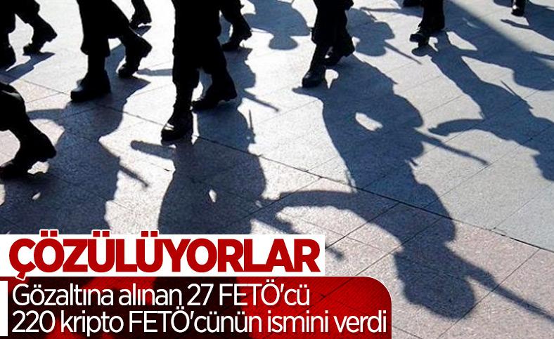 27 itirafçı, 220 FETÖ şüphelisinin ismini verdi