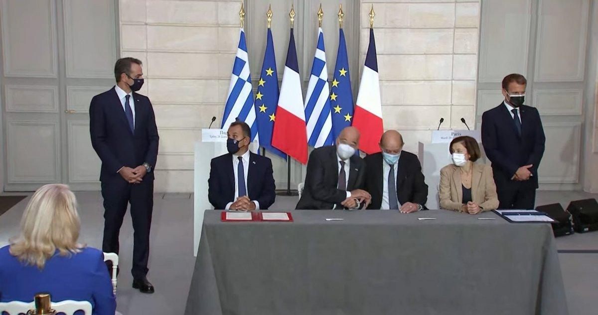 Yunanistan ile Fransa arasında silah satışı anlaşması #1