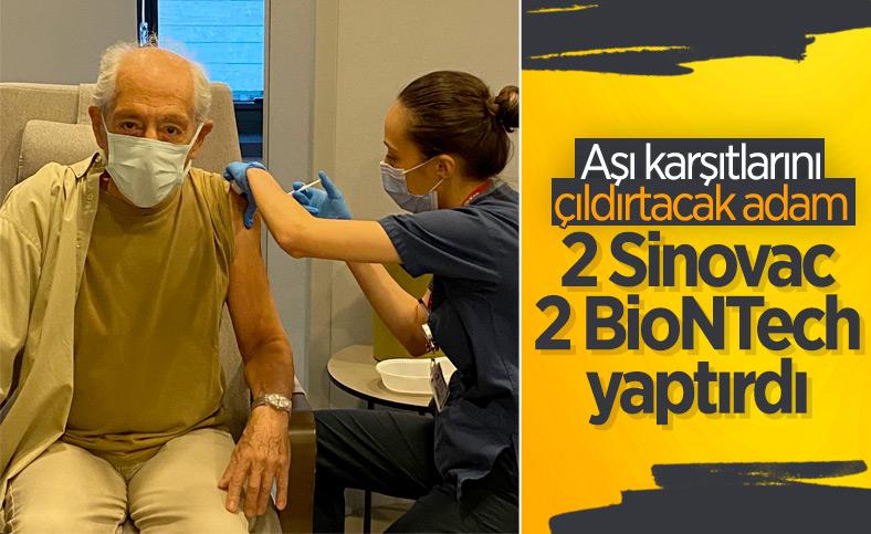 Genco Erkal, dördüncü doz aşısını yaptırdı