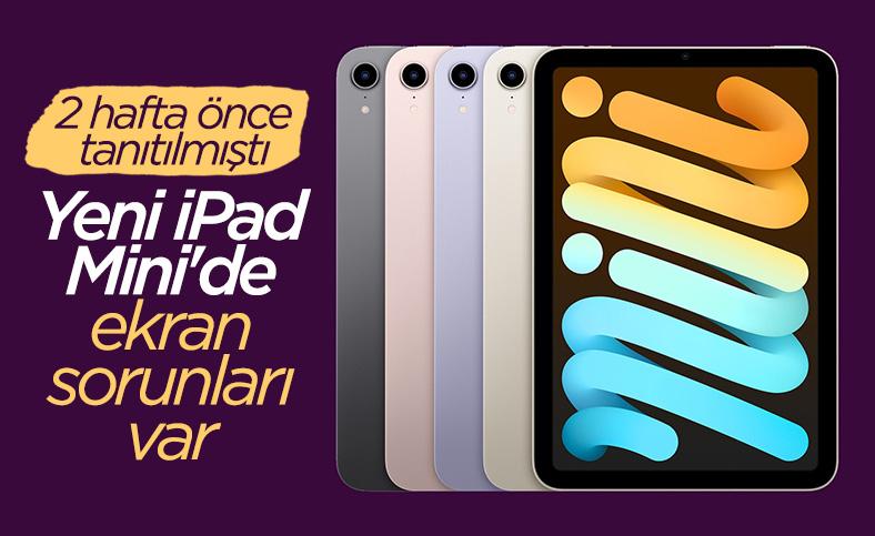 Yeni iPad Mini'de ekran sorunları ortaya çıktı
