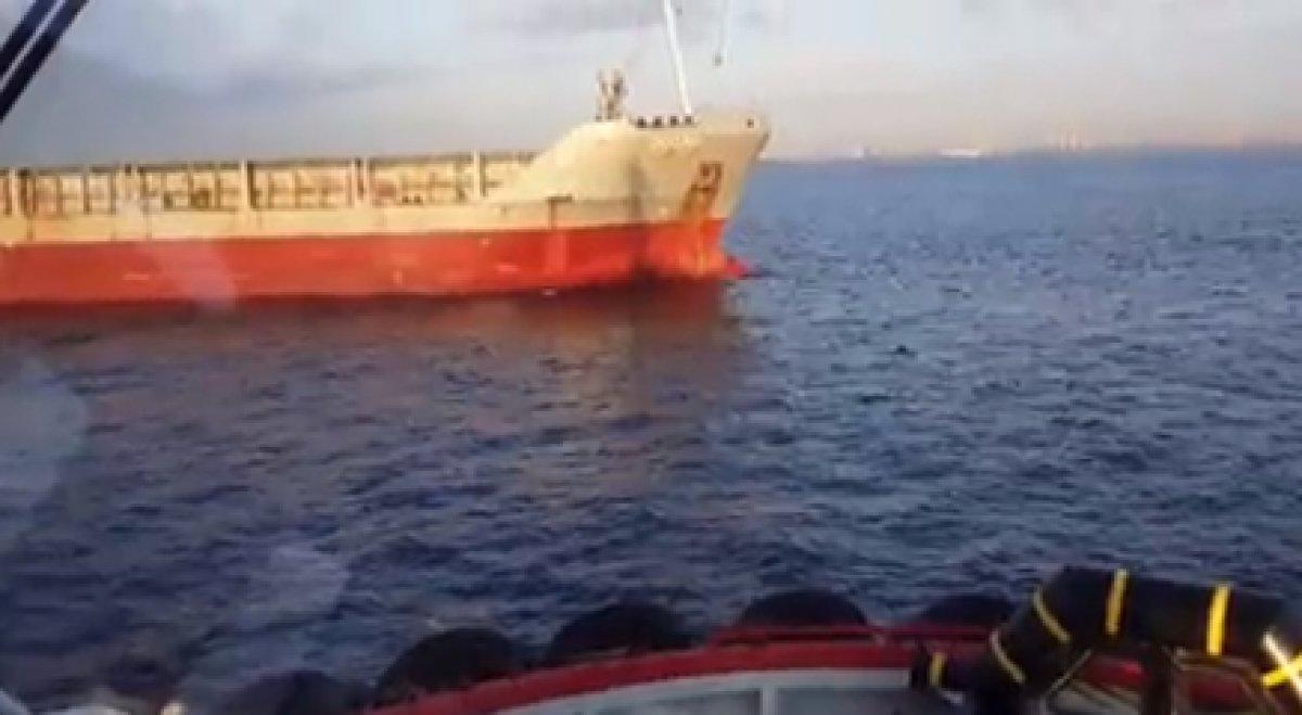 İstanbul Boğazı'nda arızalanan yük gemisi kurtarıldı #3