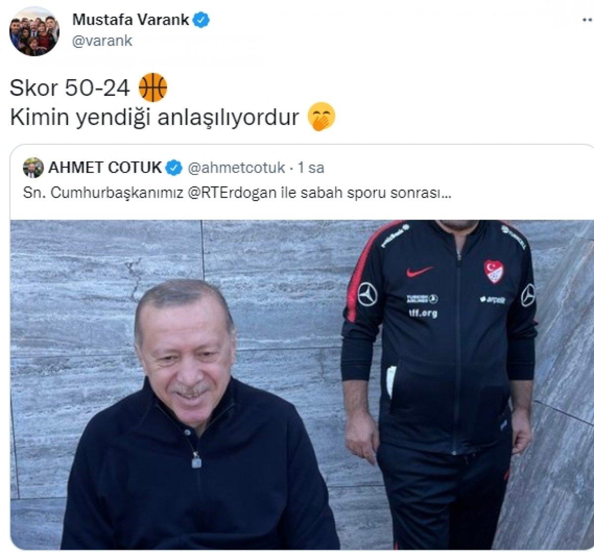 Cumhurbaşkanı Erdoğan sabah sporunda #1