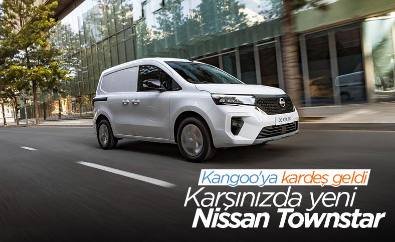 Renault Kangoo'ya kardeş geldi:  Yeni Nissan Townstar tanıtıldı