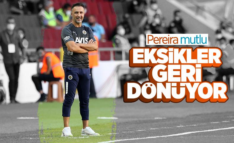 Fenerbahçe'de sakatlığı bulunan oyunculardan müjde