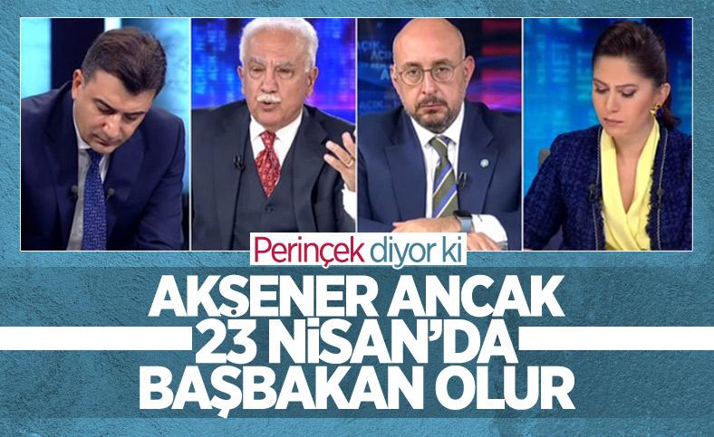 Doğu Perinçek: Meral Akşener ancak 23 Nisan'da başbakan olur