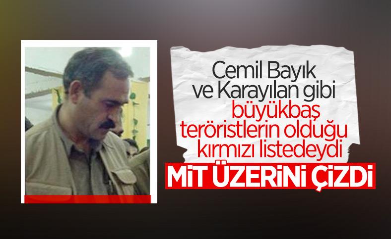 PKK'nın sözde merkez komite üyesi Engin Karaaslan öldürüldü