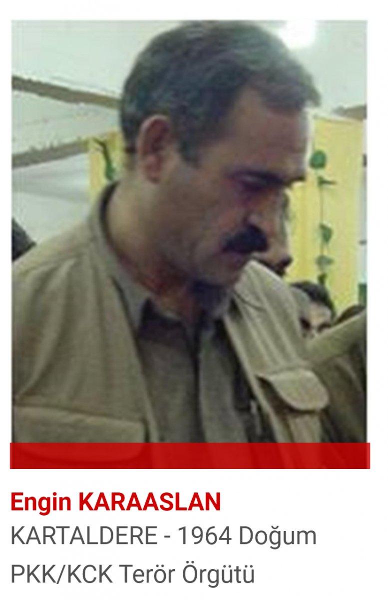 PKK nın sözde merkez komite üyesi Engin Karaaslan öldürüldü #1