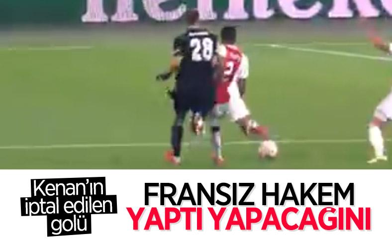 Kenan Karaman'ın nizami golü iptal edildi