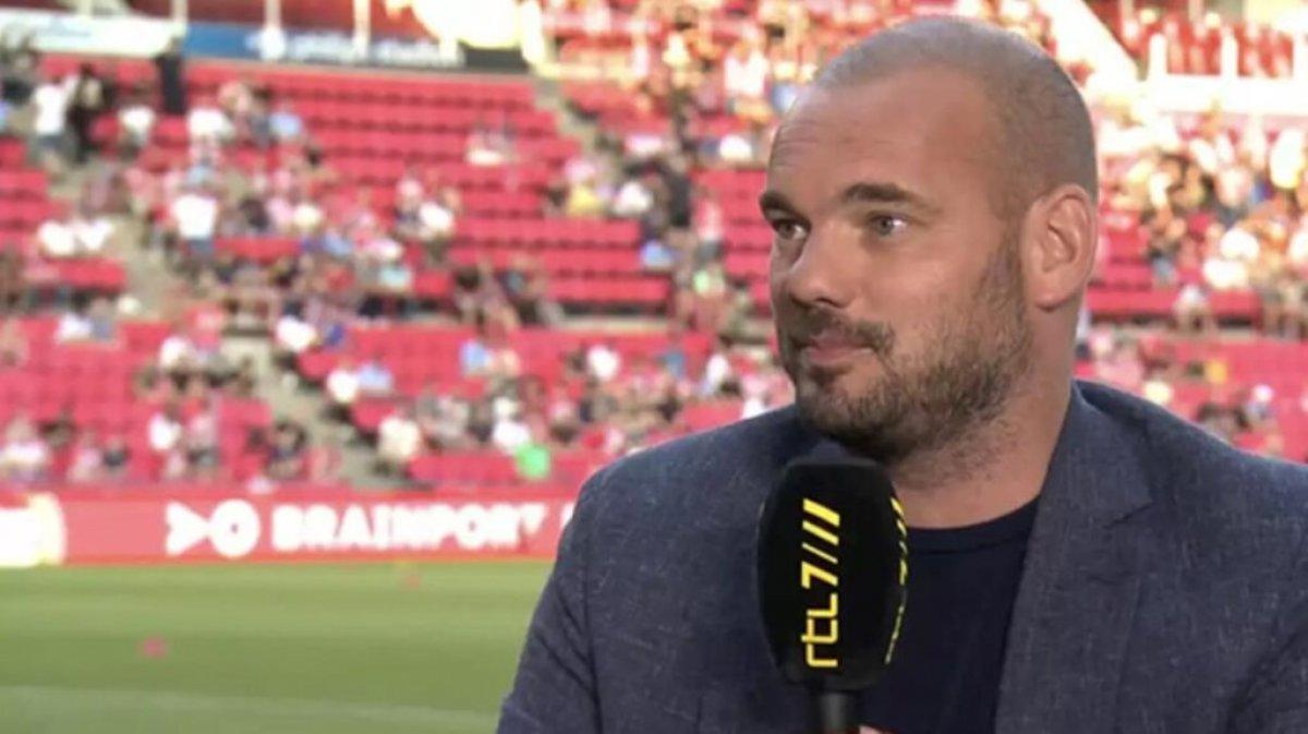 Wesley Sneijder: Beşiktaş ın golündeki faul kararı doğru #1