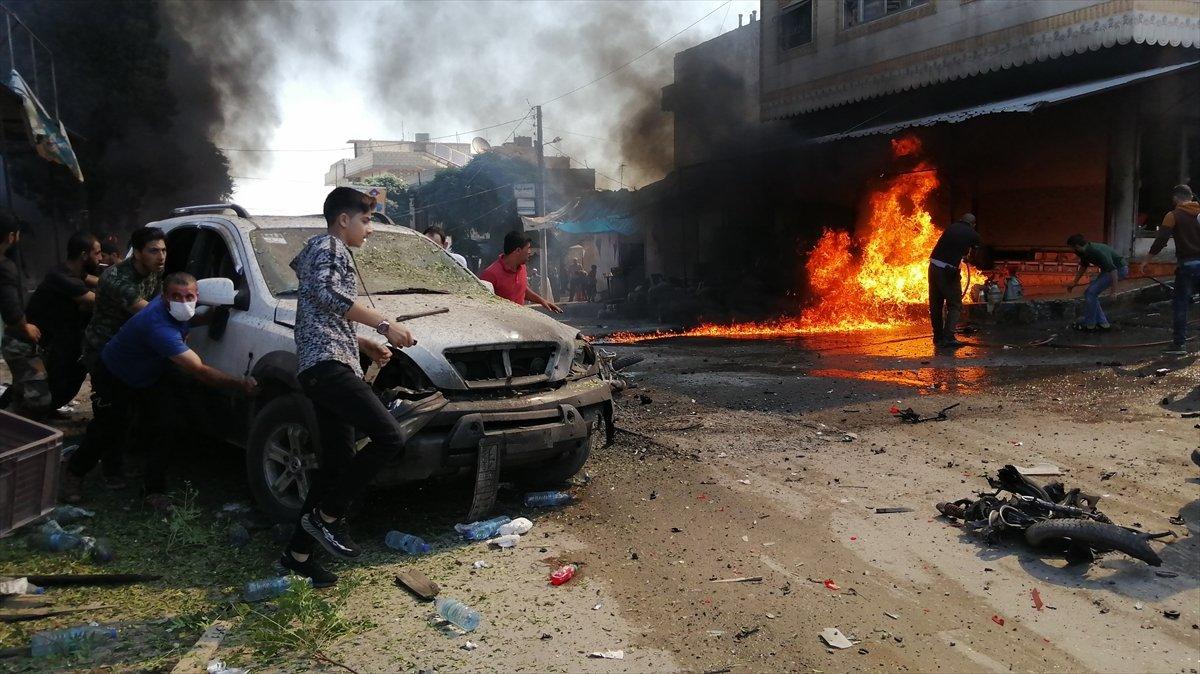 Cerablus ta eş zamanlı bombalı saldırı: 1 ölü 15 yaralı #6