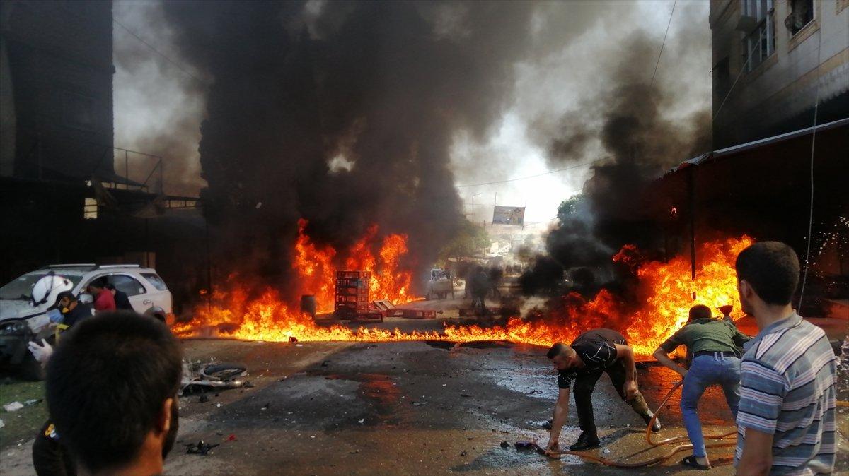 Cerablus ta eş zamanlı bombalı saldırı: 1 ölü 15 yaralı #5