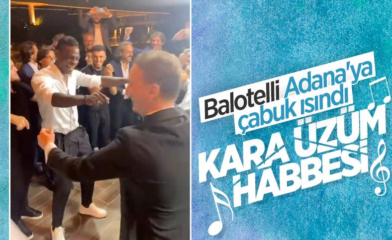Balotelli, Adana'da bir düğüne katıldı