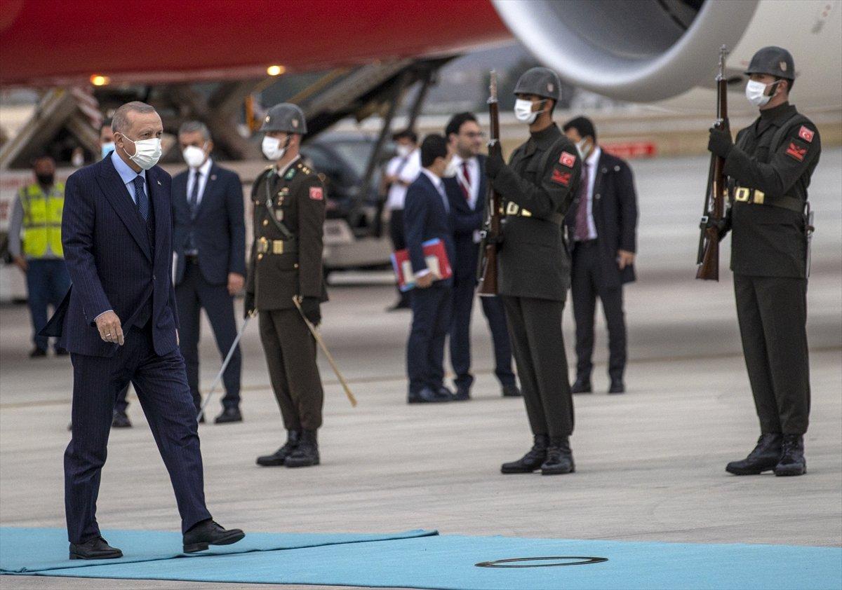 Cumhurbaşkanı Erdoğan, Rusya dan döndü #2