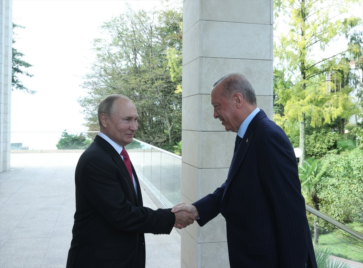 Cumhurbaşkanı Erdoğan ile Putin arasında gülümseten S-400 diyaloğu #2