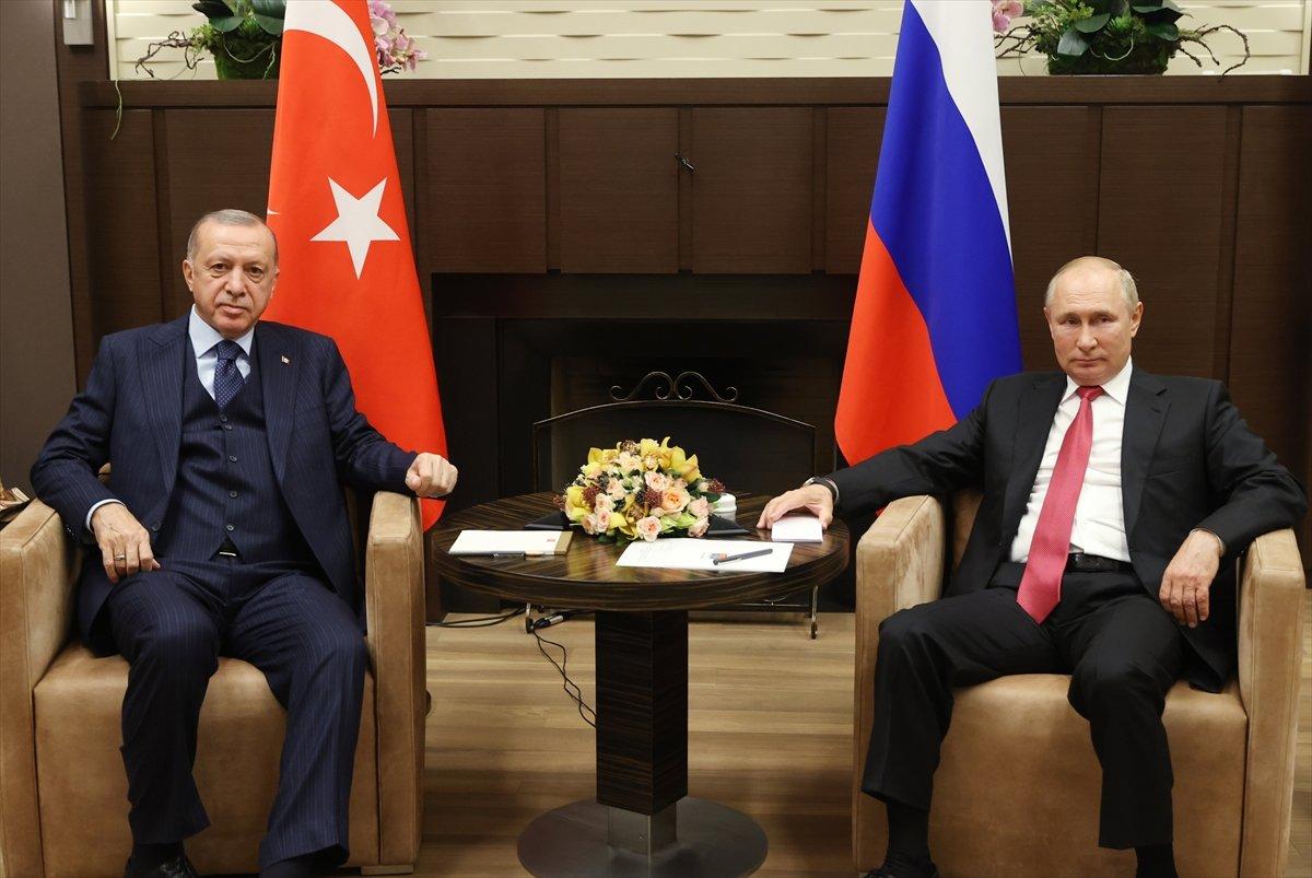 Cumhurbaşkanı Erdoğan ın Putin le görüşmesi sona erdi #2