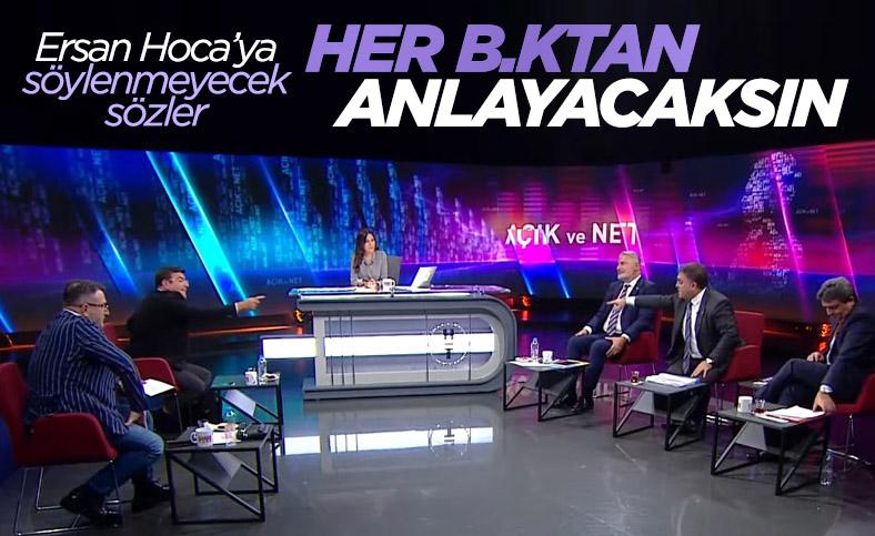 Habertürk canlı yayınında Yaşar Hacısalihoğlu ile Ersan Şen'in sözlü kavgası
