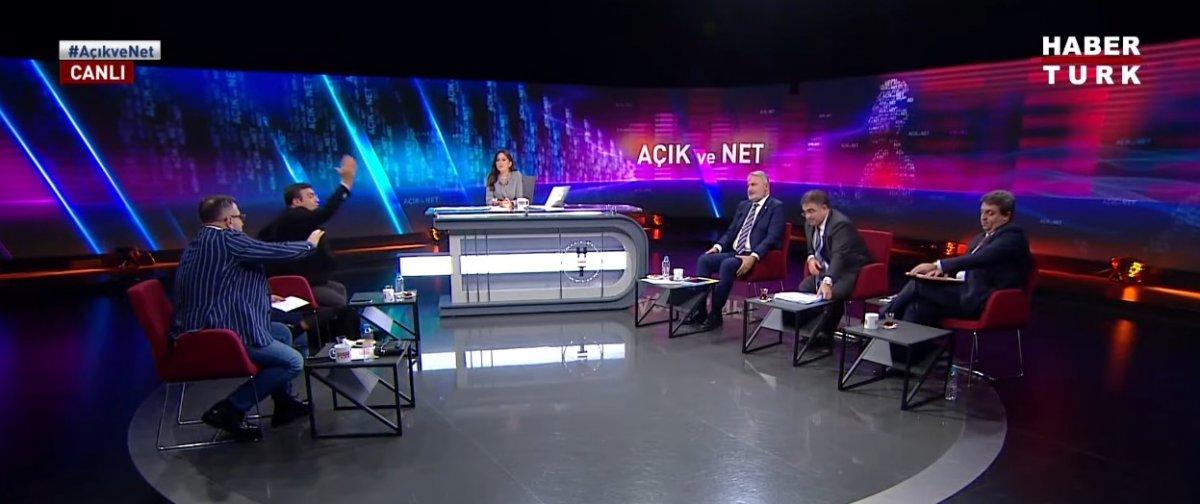 Habertürk canlı yayınında Yaşar Hacısalihoğlu ile Ersan Şen in sözlü kavgası #1