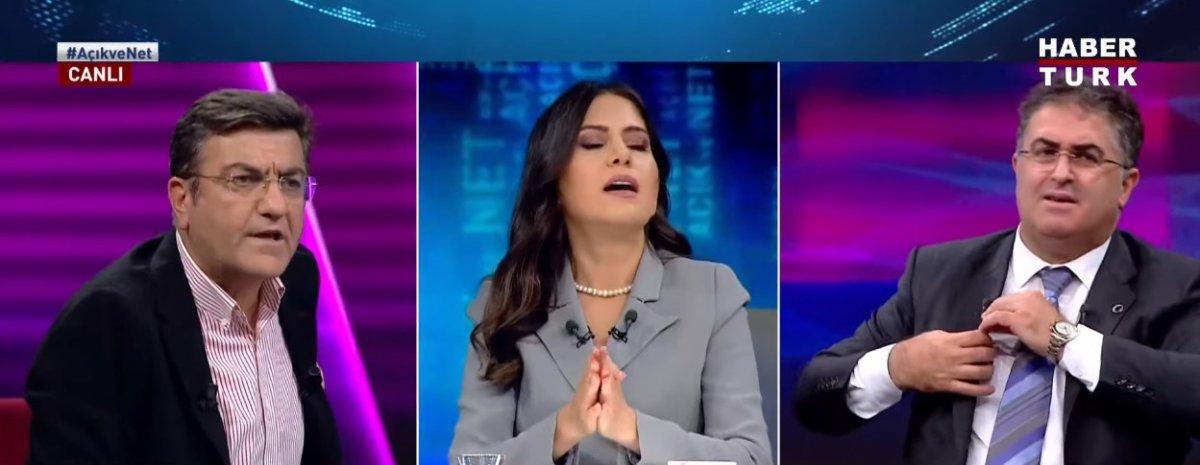 Habertürk canlı yayınında Yaşar Hacısalihoğlu ile Ersan Şen in sözlü kavgası #2