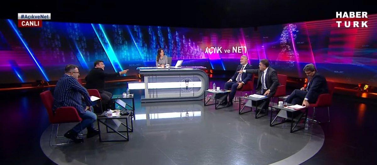 Habertürk canlı yayınında Yaşar Hacısalihoğlu ile Ersan Şen in sözlü kavgası #4