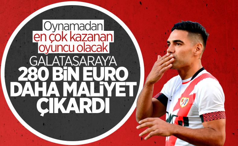 Falcao'dan Galatasaray'a yeni fatura