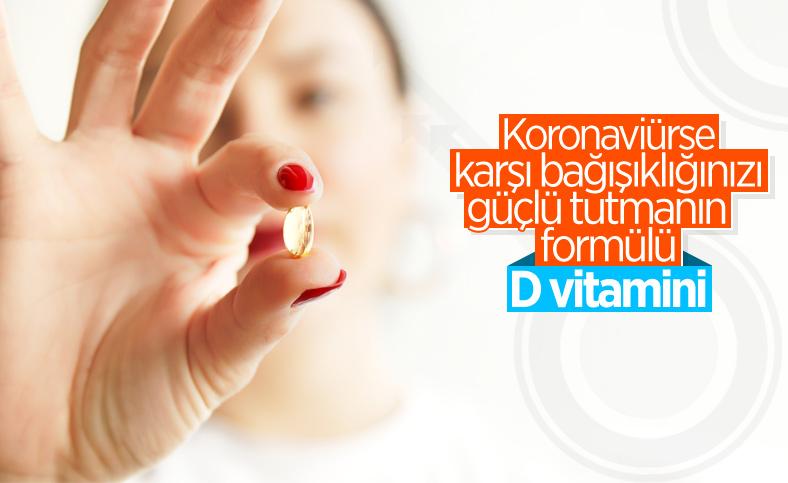 Pandemi döneminde D vitaminini ihmal etmeyin