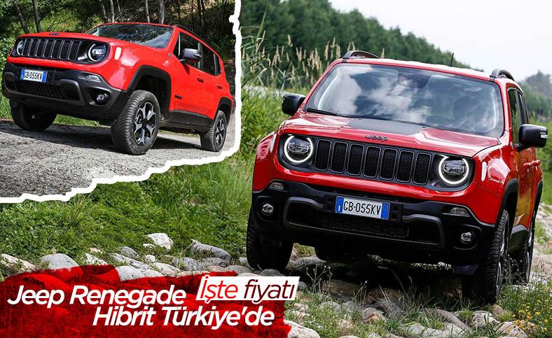 Jeep Renegade Hibrit Türkiye'de satışta: İşte fiyatı