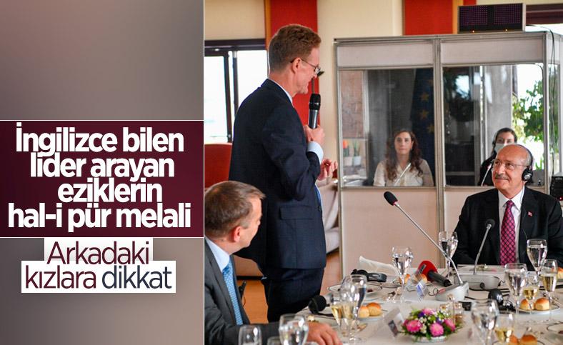 Kemal Kılıçdaroğlu, büyükelçilerle yemekte buluştu
