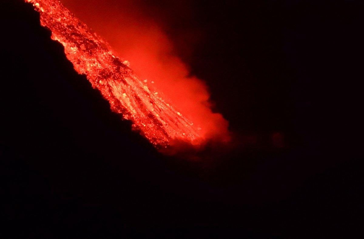 La Palma da lavlar Atlas Okyanusu na ulaştı #6