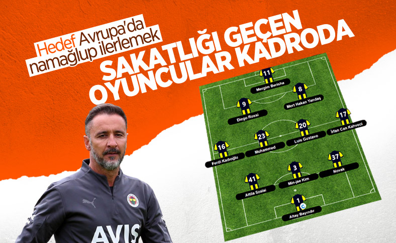 Fenerbahçe, Olimpiakos maçına hazır