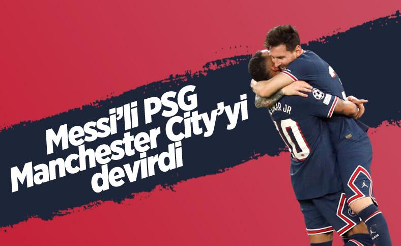 Lionel Messi, PSG'deki ilk golünü attı