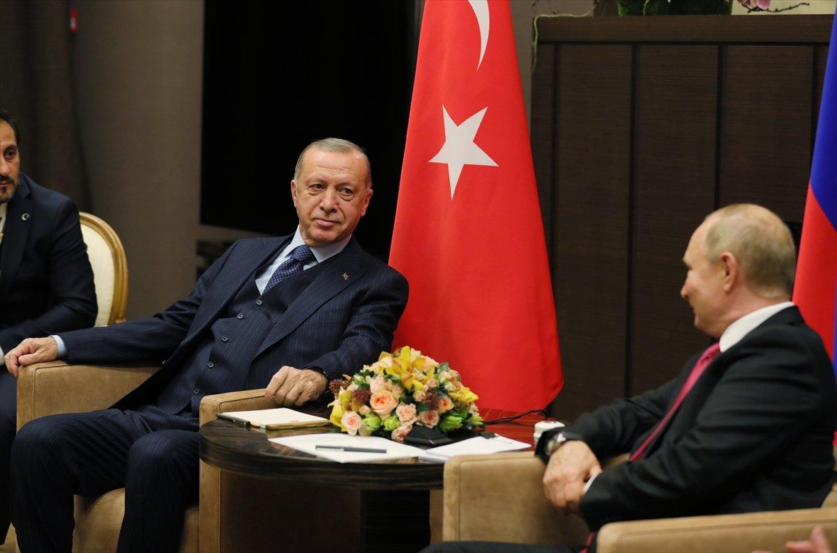 Cumhurbaşkanı Erdoğan ın Putin le görüşmesi sona erdi #3