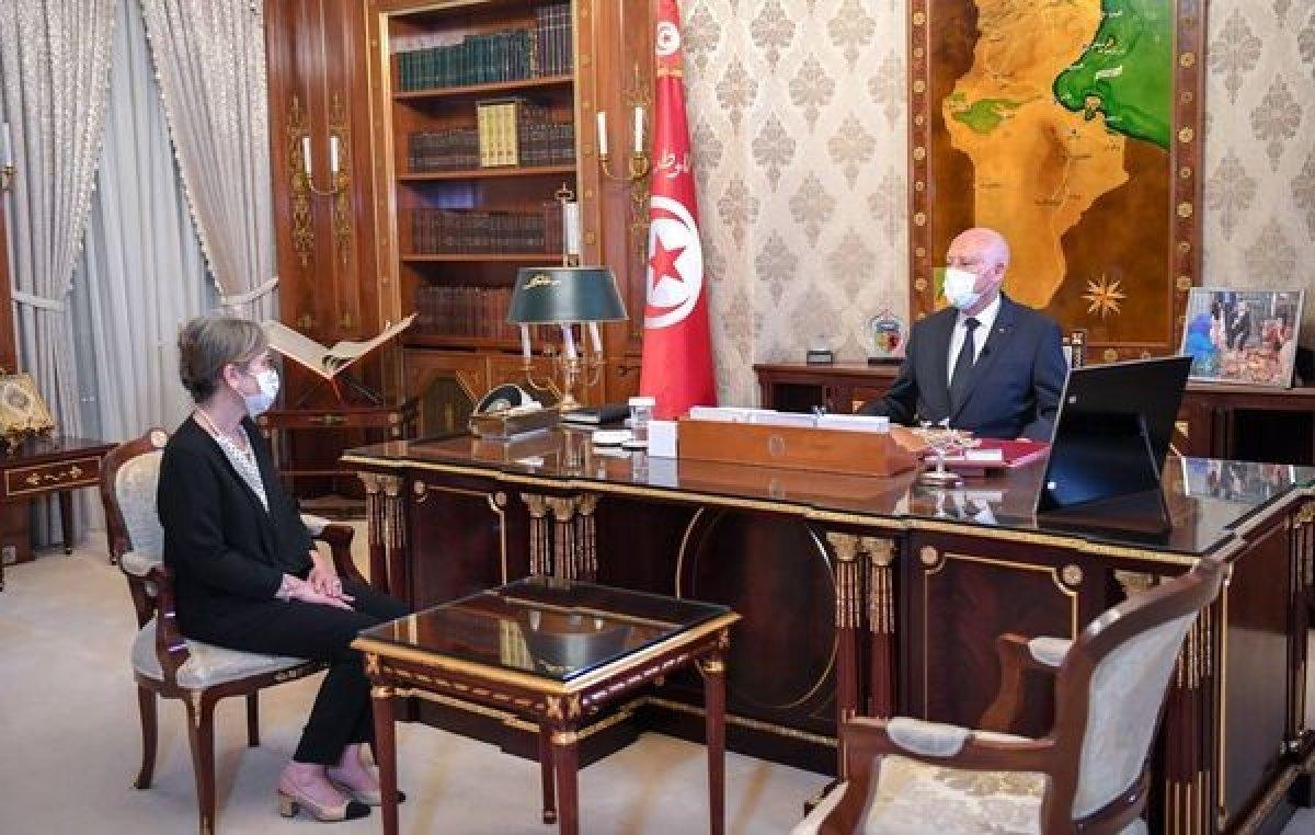 Tunus un ve Arap dünyasının ilk kadın başbakanı Necla Buden, yeni kabineyi açıkladı #2