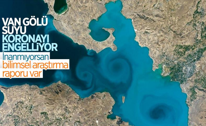 Van Gölü'nden hazırlanan sprey, koronavirüsün yayılmasına engel oluyor