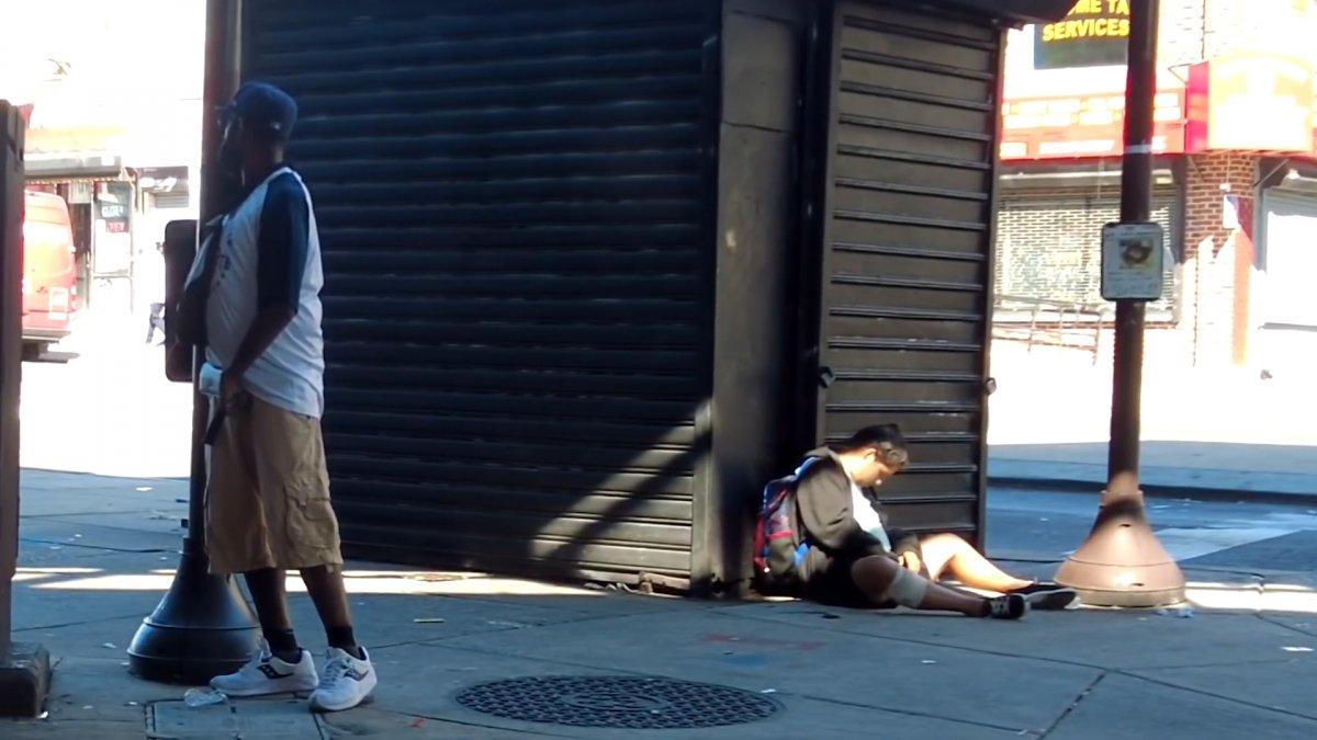 ABD de uyuşturucudan zombiye dönüşen insanların yeni görüntüleri  #3