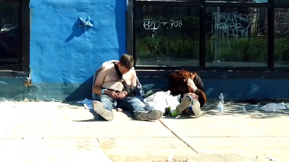 ABD de uyuşturucudan zombiye dönüşen insanların yeni görüntüleri  #4