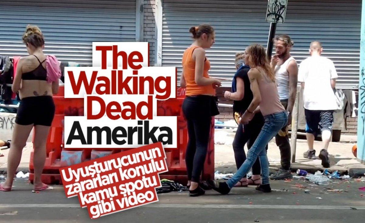 ABD de uyuşturucudan zombiye dönüşen insanların yeni görüntüleri  #10