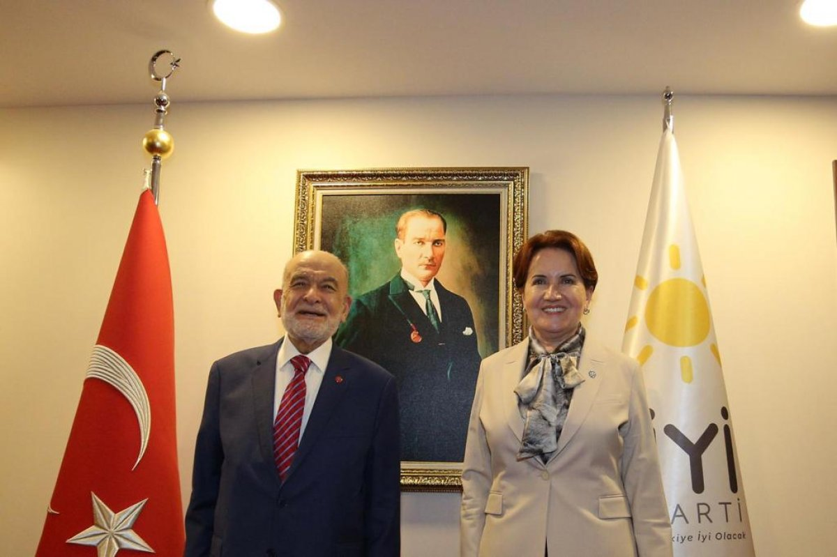 Temel Karamollaoğlu ve Meral Akşener den ortak açıklama #1
