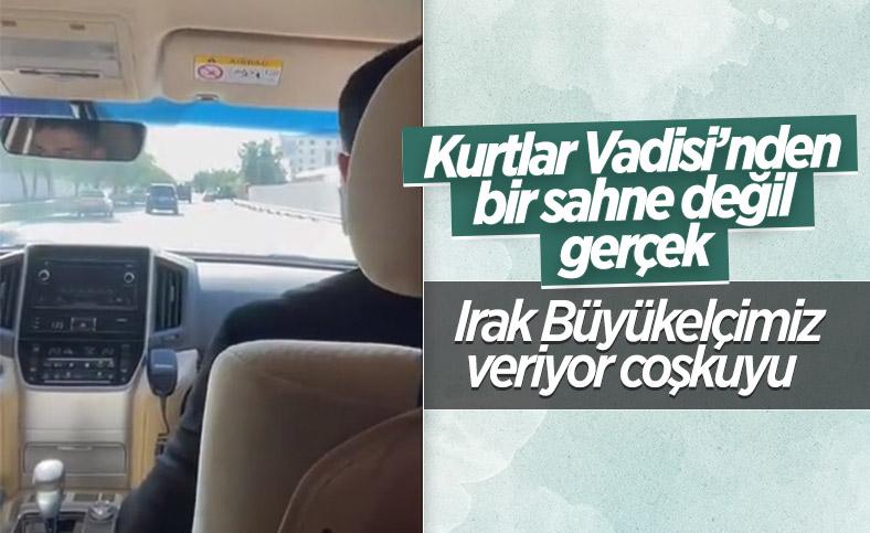 Irak Büyükelçisi Ali Rıza Güney'in 'eve dönüş' paylaşımı