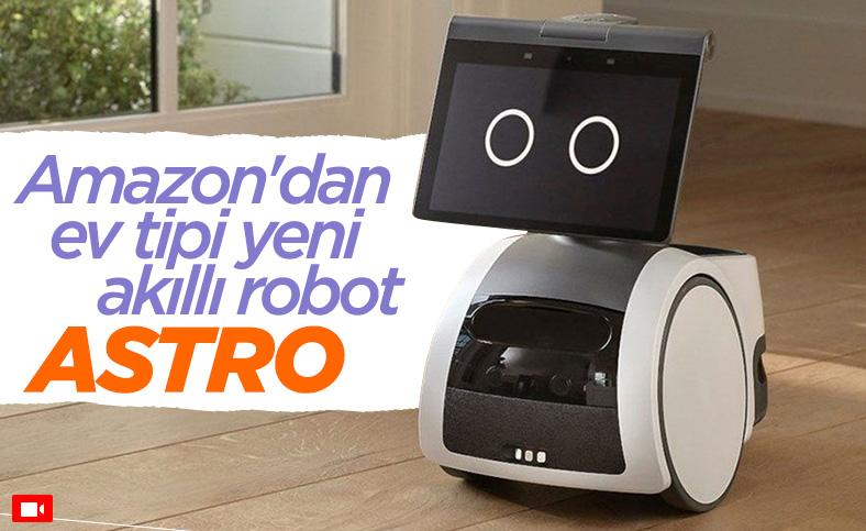 Amazon ev tipi akıllı robotu Astro'yu tanıttı