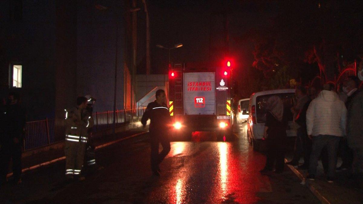 İstanbul da çıkan yangın söndürüldü #3