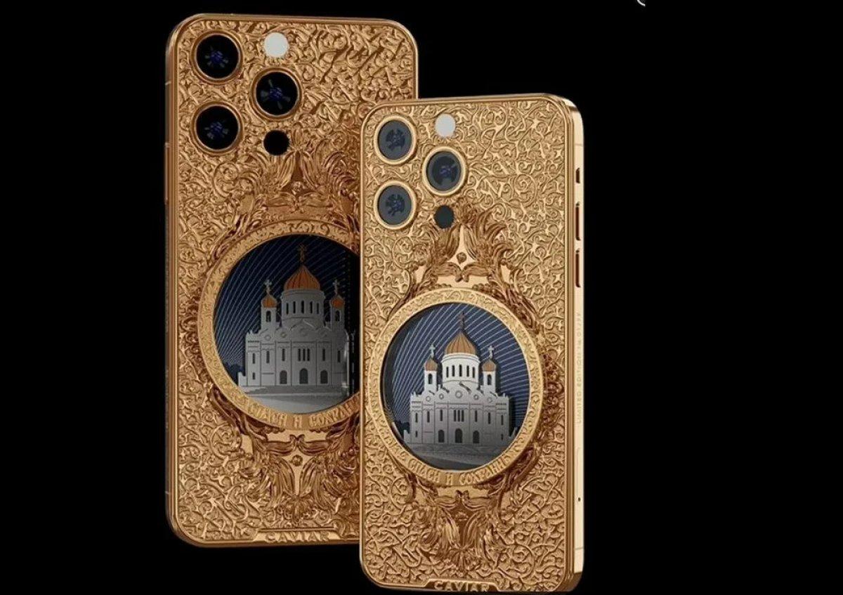 Altın kaplama iPhone 13 modelleri satışa çıktı #1