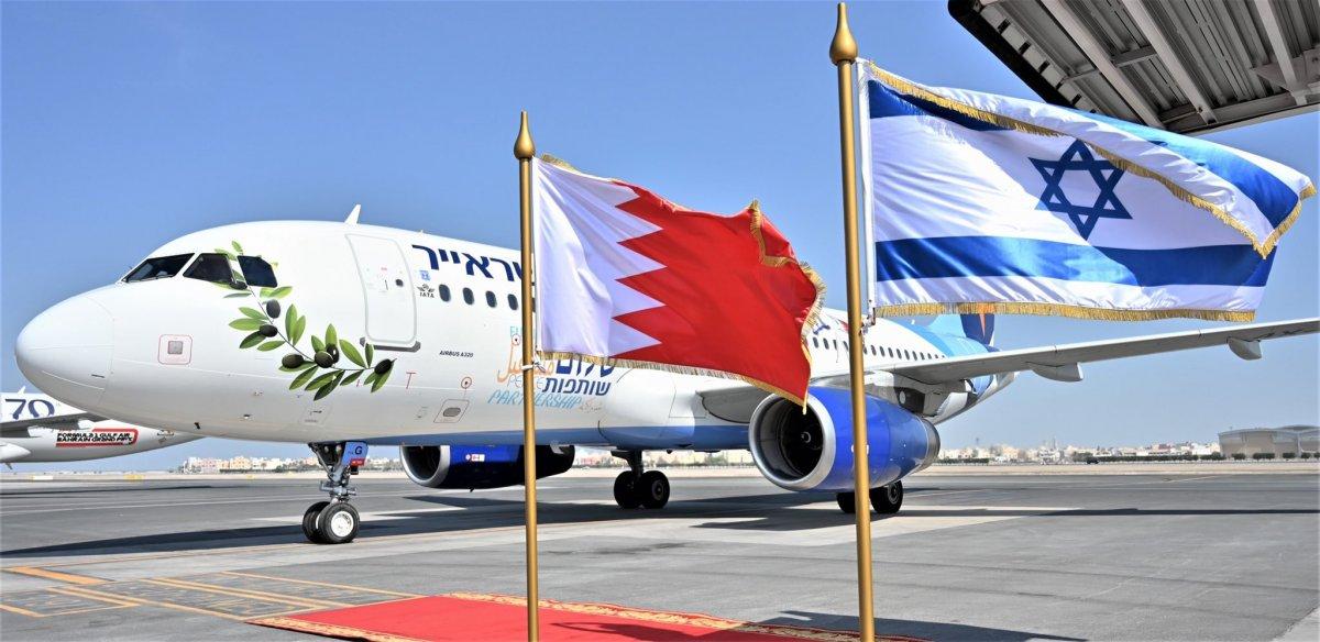İsrail'den Bahreyn'e ilk resmi ziyaret #4