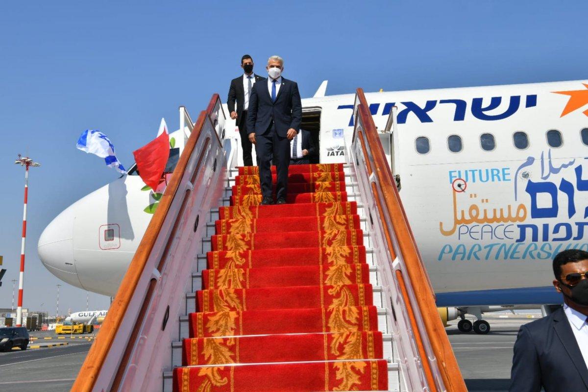 İsrail'den Bahreyn'e ilk resmi ziyaret #2