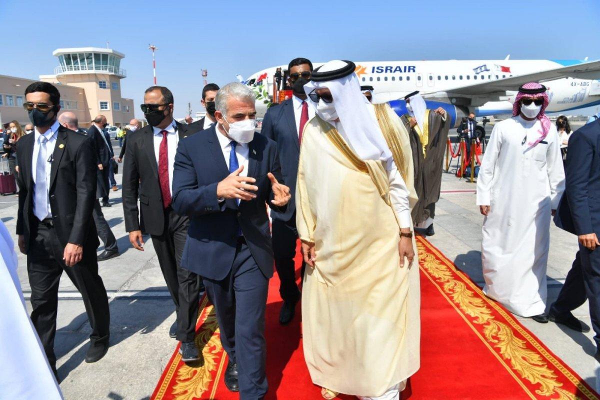 İsrail'den Bahreyn'e ilk resmi ziyaret #5