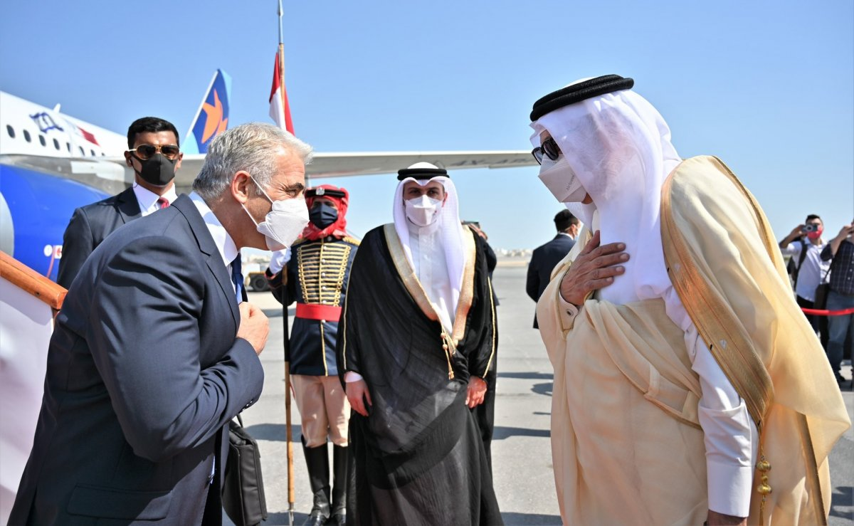 İsrail'den Bahreyn'e ilk resmi ziyaret #3