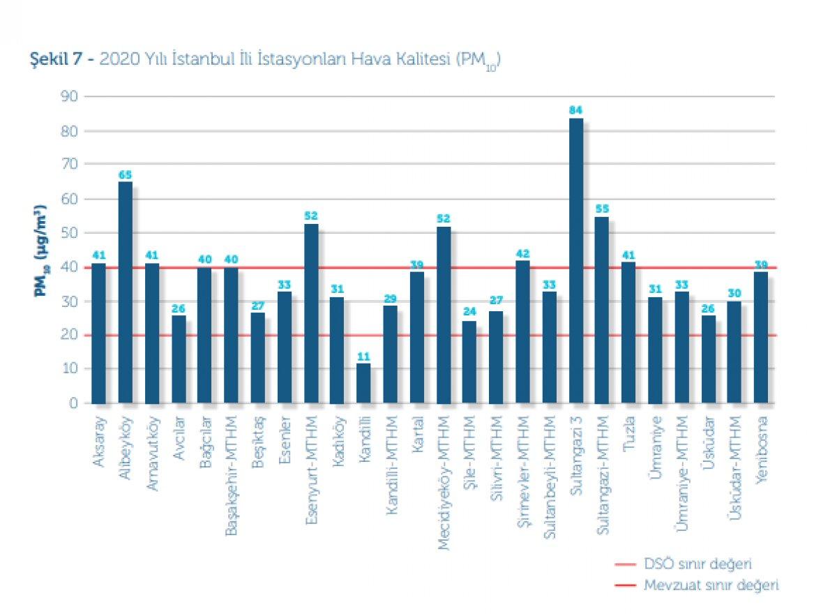 Türkiye de geçen yıl 13 şehirde  yüksek hava kirliliği  olduğu belirlendi #1