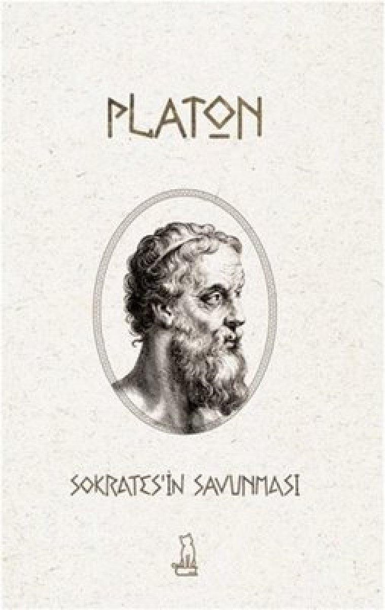 Platon un tanıklığında hocası Sokrates in Savunması kitabı #1