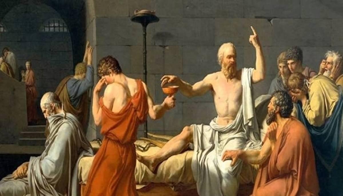 Platon un tanıklığında hocası Sokrates in Savunması kitabı #3