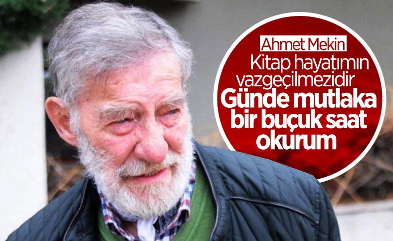Ahmet Mekin: Günde bir buçuk saat kitap okuyorum