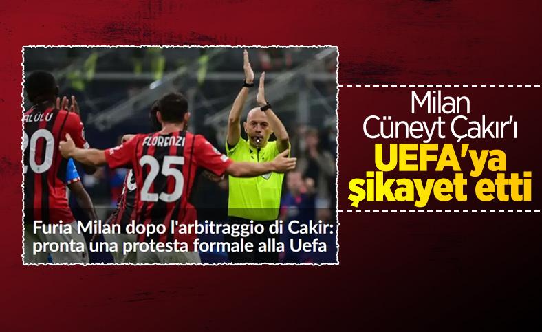 İtalyanlar Cüneyt Çakır'ı UEFA'ya şikayet etti